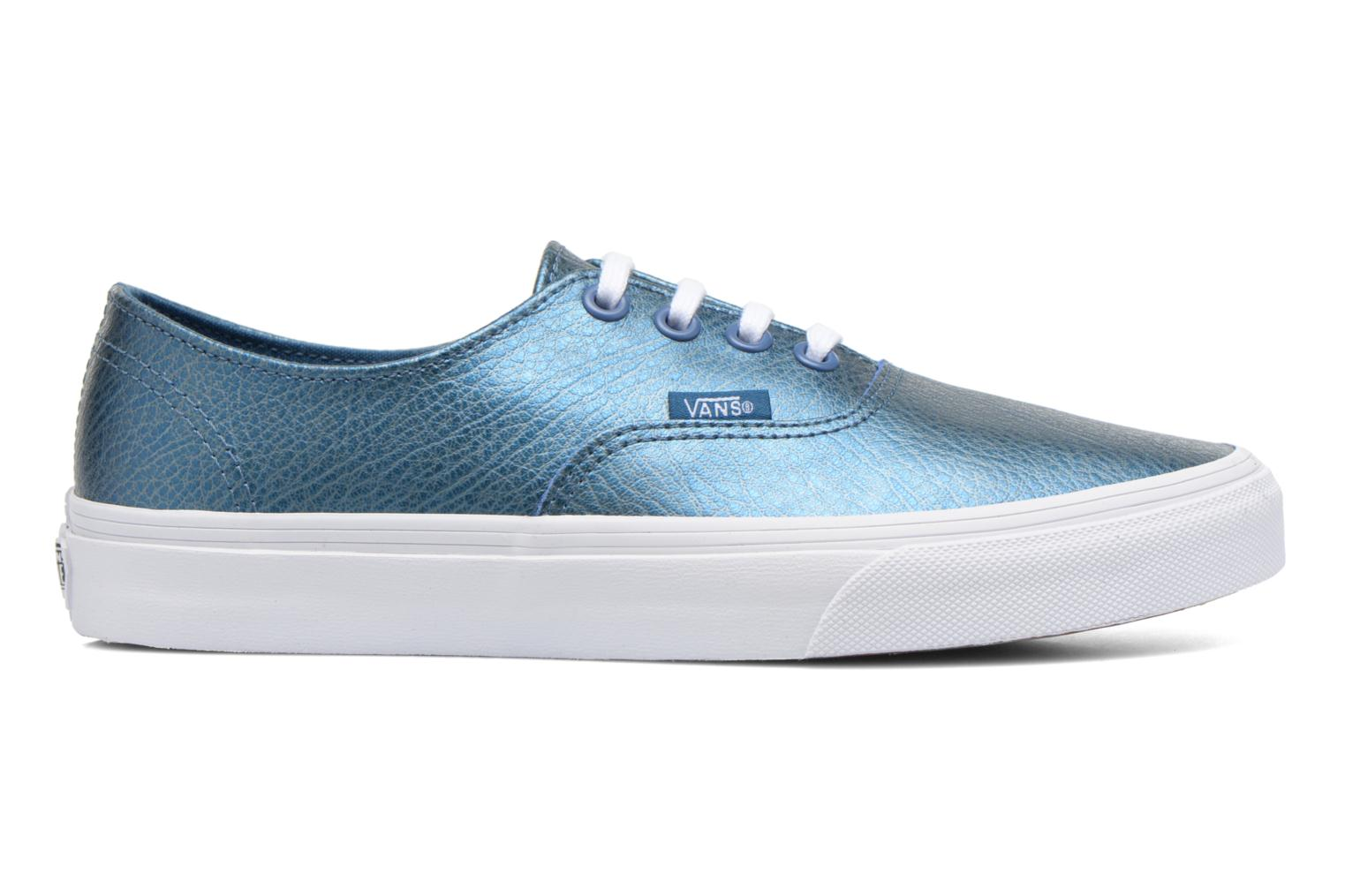 Trainers Vans Authentic Decon W Blue back view