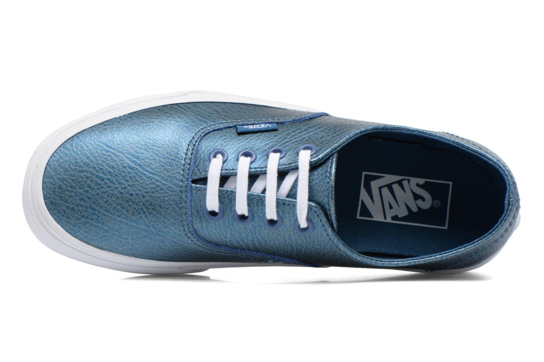 Sneaker Vans Authentic Decon W blau ansicht von links