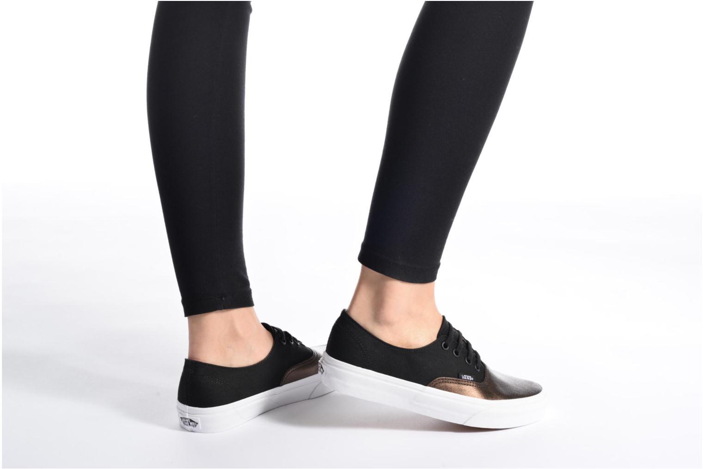 Sneakers Vans Authentic Decon W Zwart onder