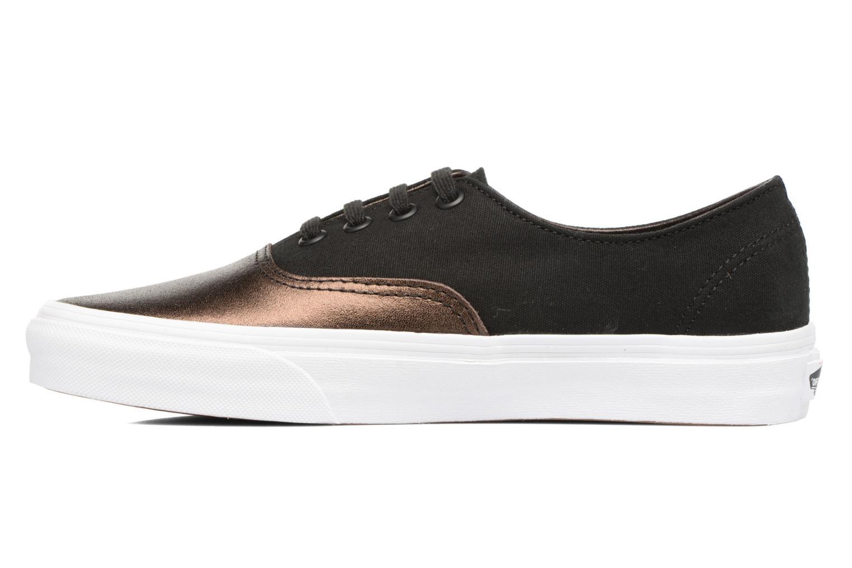 Sneakers Vans Authentic Decon W Zwart voorkant