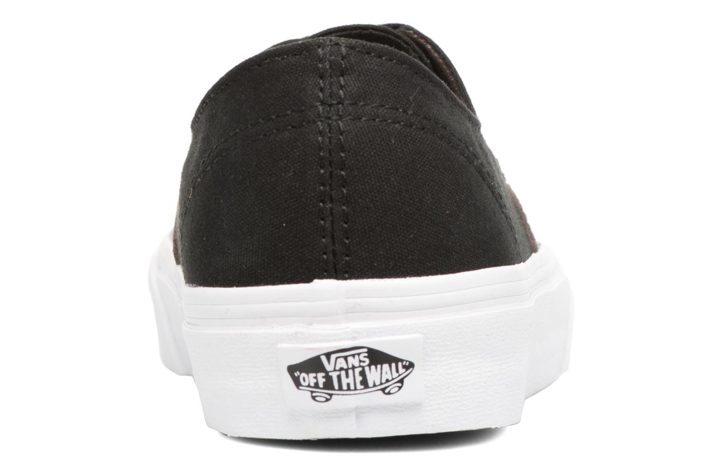 Sneakers Vans Authentic Decon W Zwart rechts