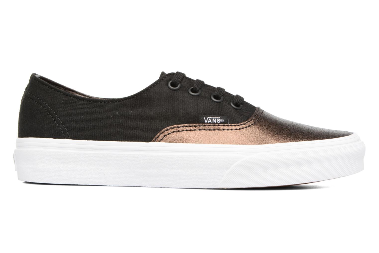 Sneakers Vans Authentic Decon W Zwart achterkant