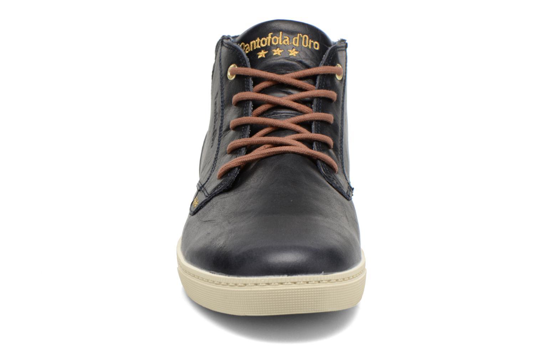 Sneakers Pantofola d'Oro Prato Leather Mid Men Blauw model