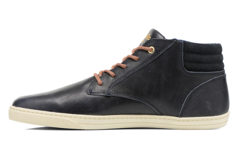 Sneakers Pantofola d'Oro Prato Leather Mid Men Blauw voorkant