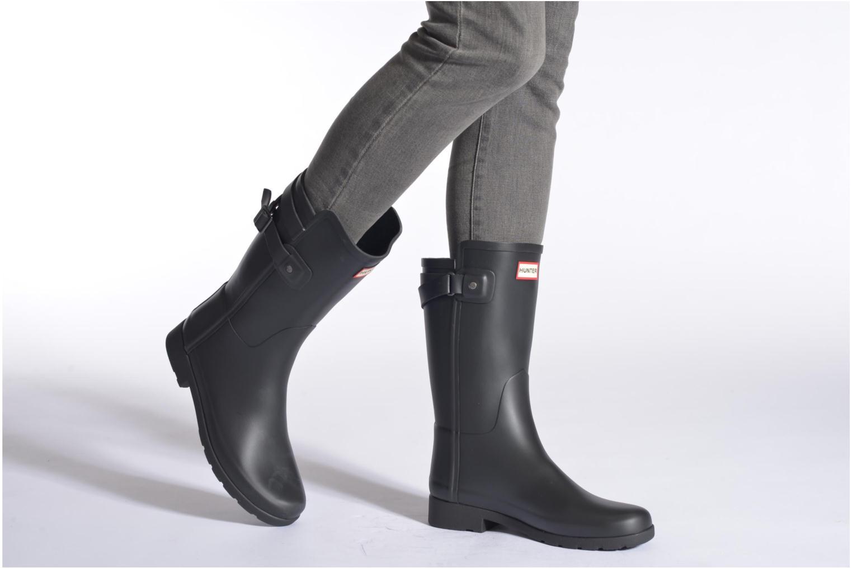 Boots en enkellaarsjes Hunter Original refined Back Strap Short Zwart onder