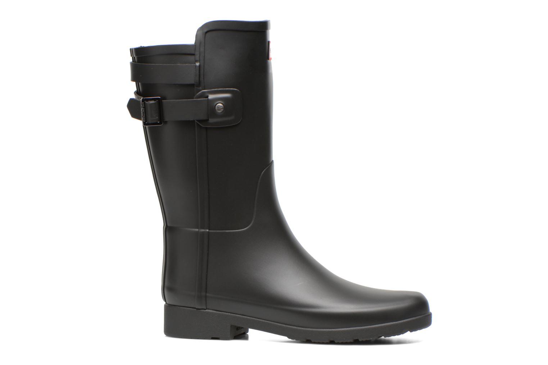 Ankle boots Hunter Original refined Back Strap Short Black back view