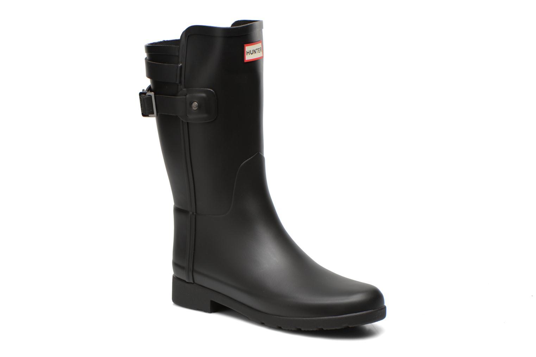 Boots en enkellaarsjes Hunter Original refined Back Strap Short Zwart detail