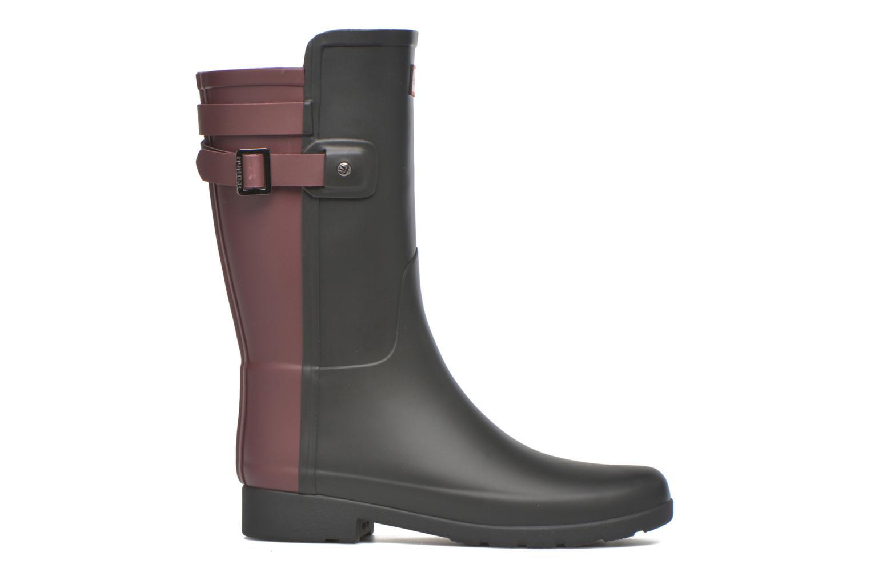 Bottines et boots Hunter Original refined Back Strap Short Noir vue derrière