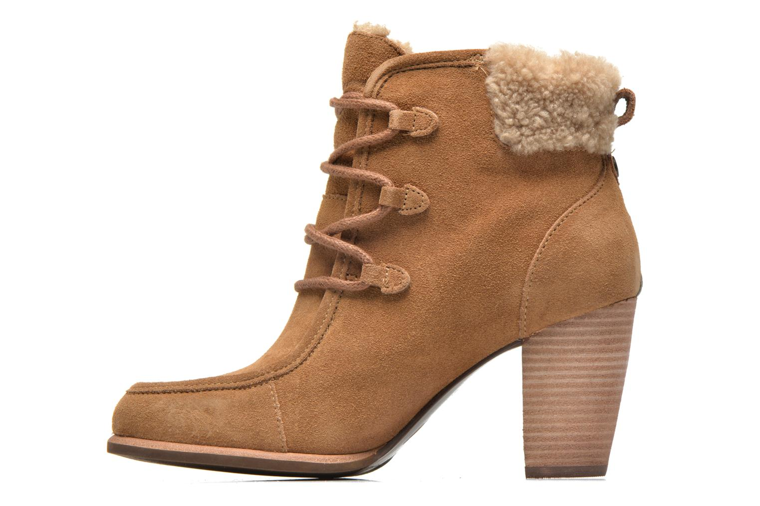 Ankle boots UGG Analise Brown front view