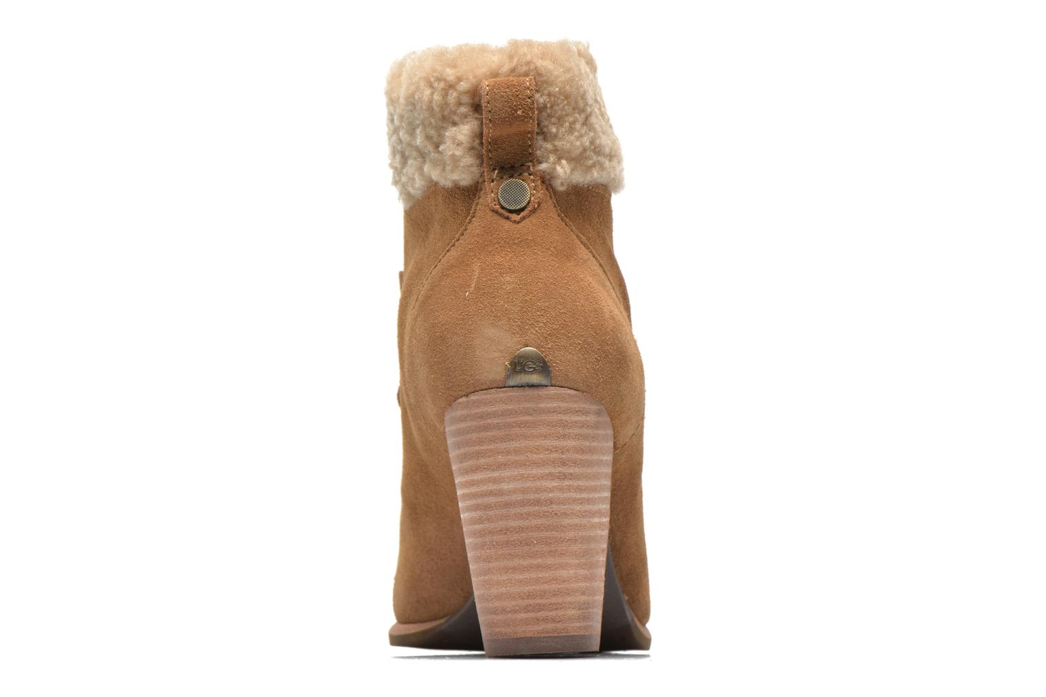 Ankle boots UGG Analise Brown view from the right