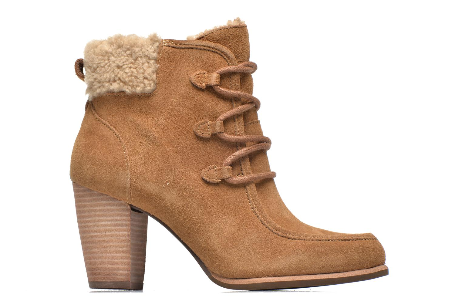 Ankle boots UGG Analise Brown back view