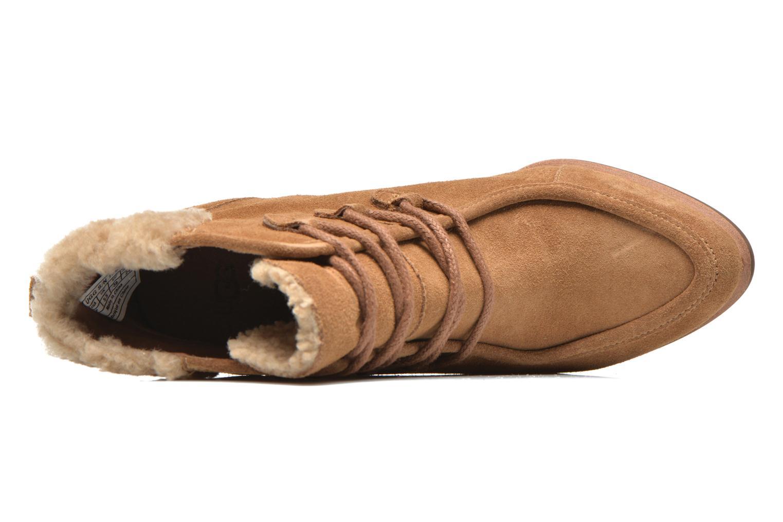Boots en enkellaarsjes UGG Analise Bruin links