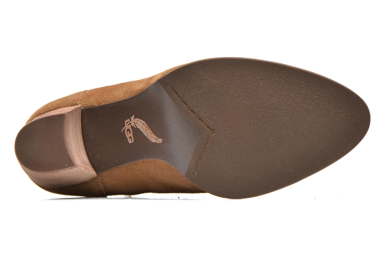Bottines et boots UGG Analise Marron vue haut