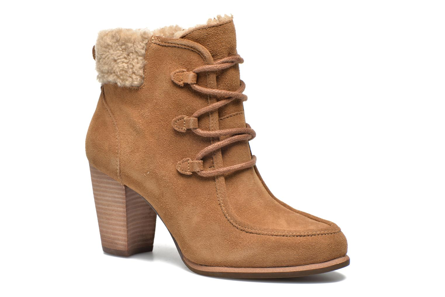Ankle boots UGG Analise Brown detailed view/ Pair view