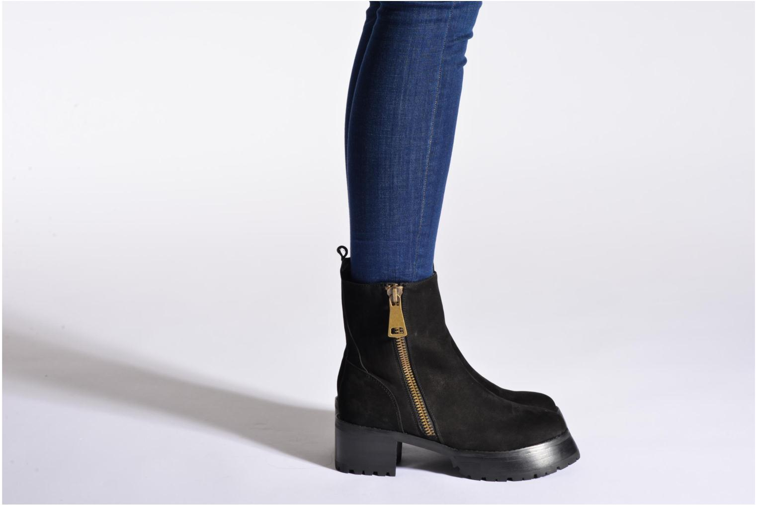 Ankle boots Intentionally blank Eva Boot Black view from underneath / model view