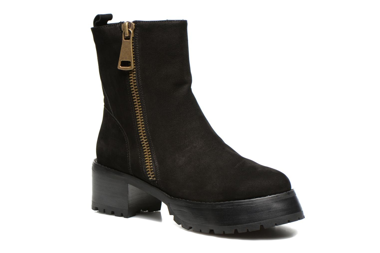 Eva Boot Black leather