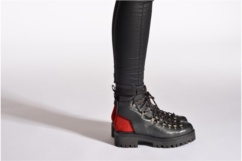 Stiefeletten & Boots Intentionally blank Tharp schwarz ansicht von unten / tasche getragen