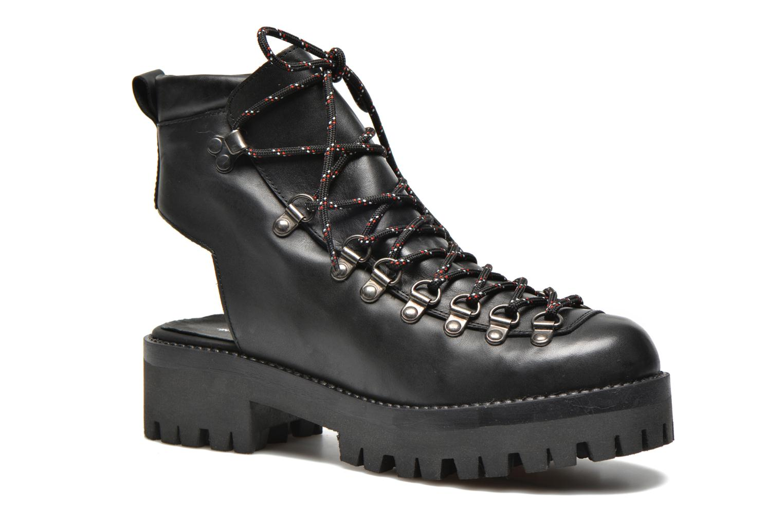 Ankelstøvler Intentionally blank Tharp Sort detaljeret billede af skoene