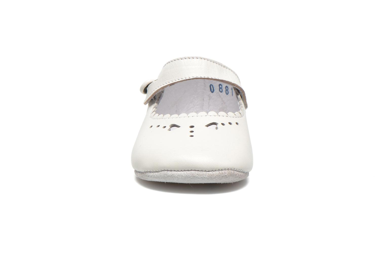 Chaussons Start Rite Baby Elizabeth Blanc vue portées chaussures