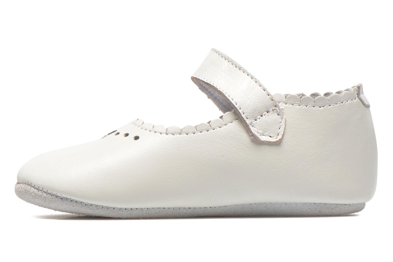 Baby Elizabeth White leather