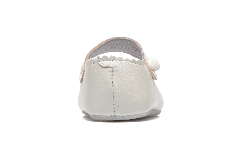 Pantoffels Start Rite Baby Elizabeth Wit rechts