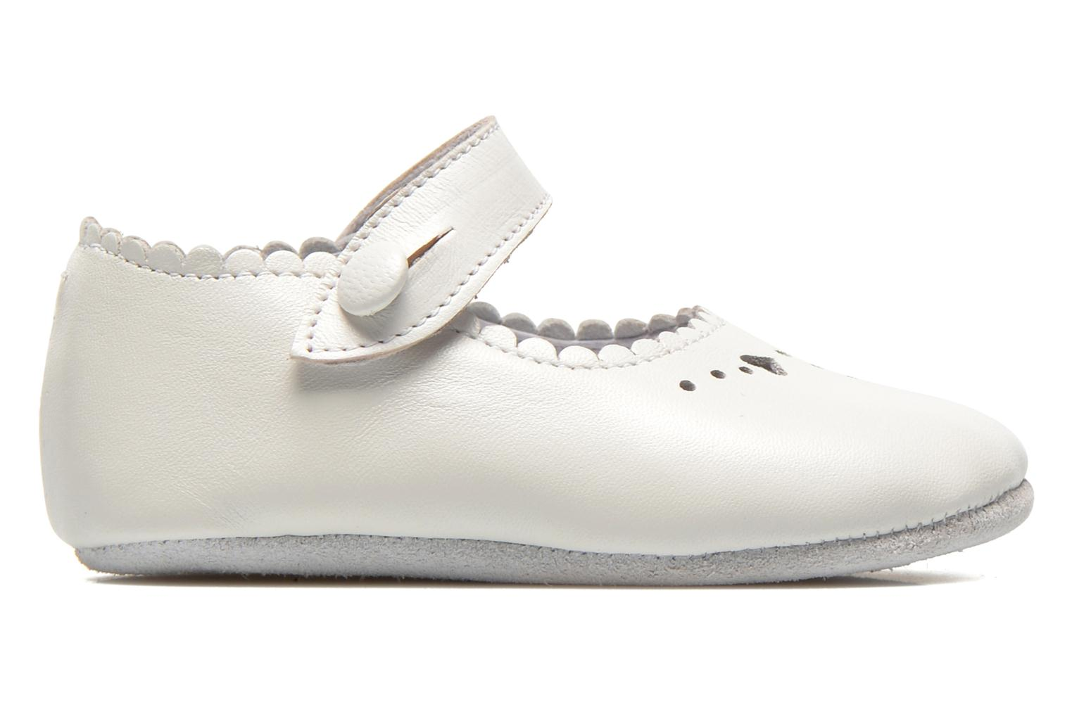 Baby Elizabeth White leather