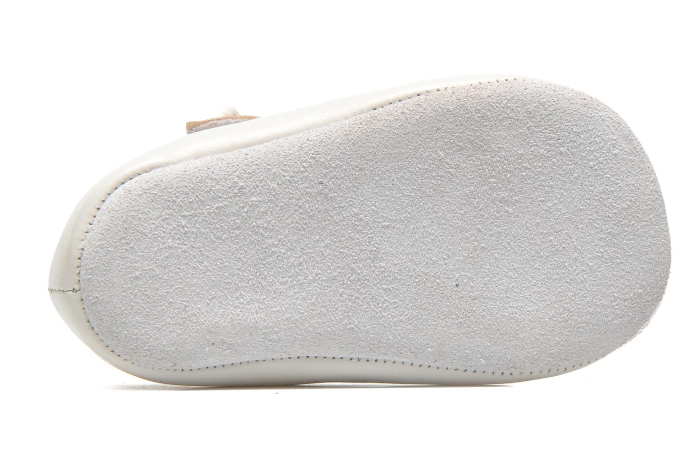 Pantoffels Start Rite Baby Elizabeth Wit boven