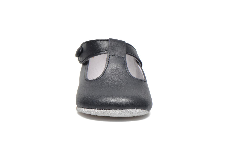 Pantofole Start Rite Baby Edward Azzurro modello indossato