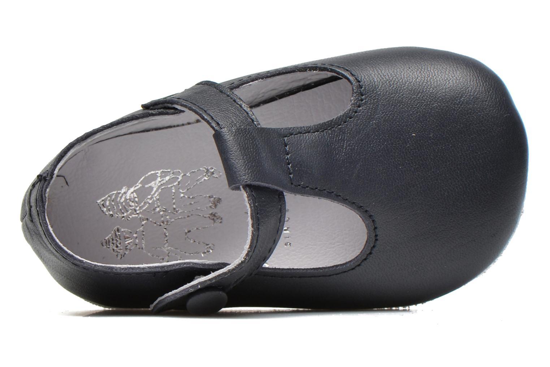 Pantofole Start Rite Baby Edward Azzurro immagine sinistra