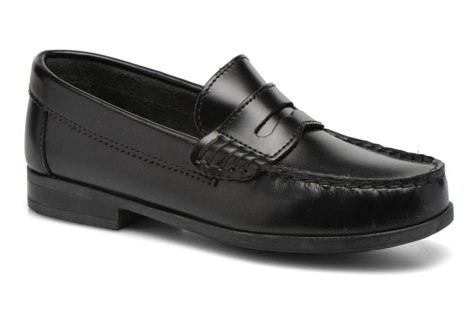 Loafers Start Rite Penny 2 Black detailed view/ Pair view