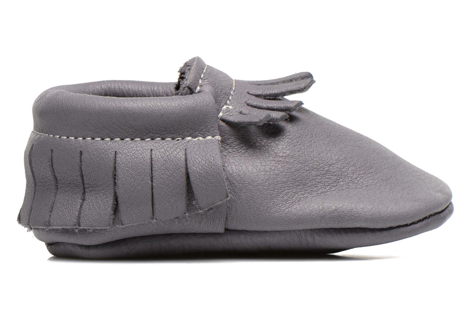 Slippers Hippie Ya Mocassins Requin Grey back view