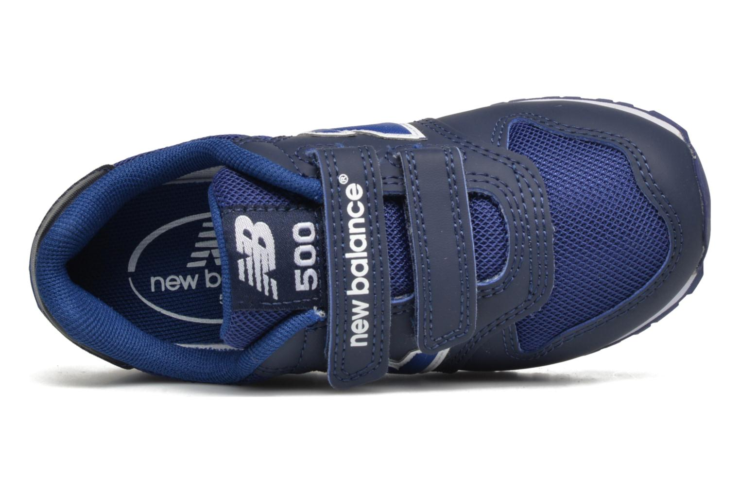Trainers New Balance KV500 Blue view from the left