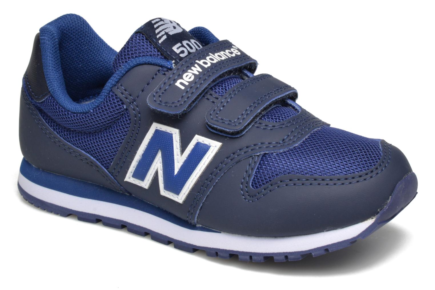 Trainers New Balance KV500 Blue detailed view/ Pair view