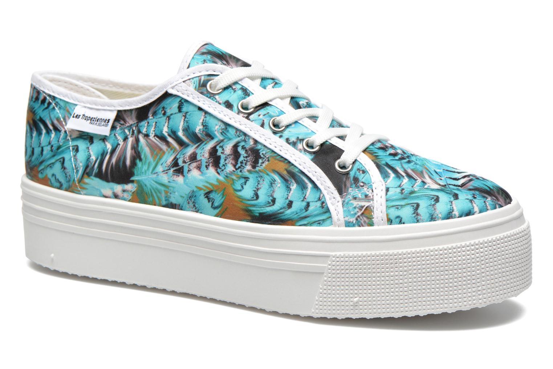 Sneakers Les Tropéziennes par M Belarbi Samba Blå detaljeret billede af skoene