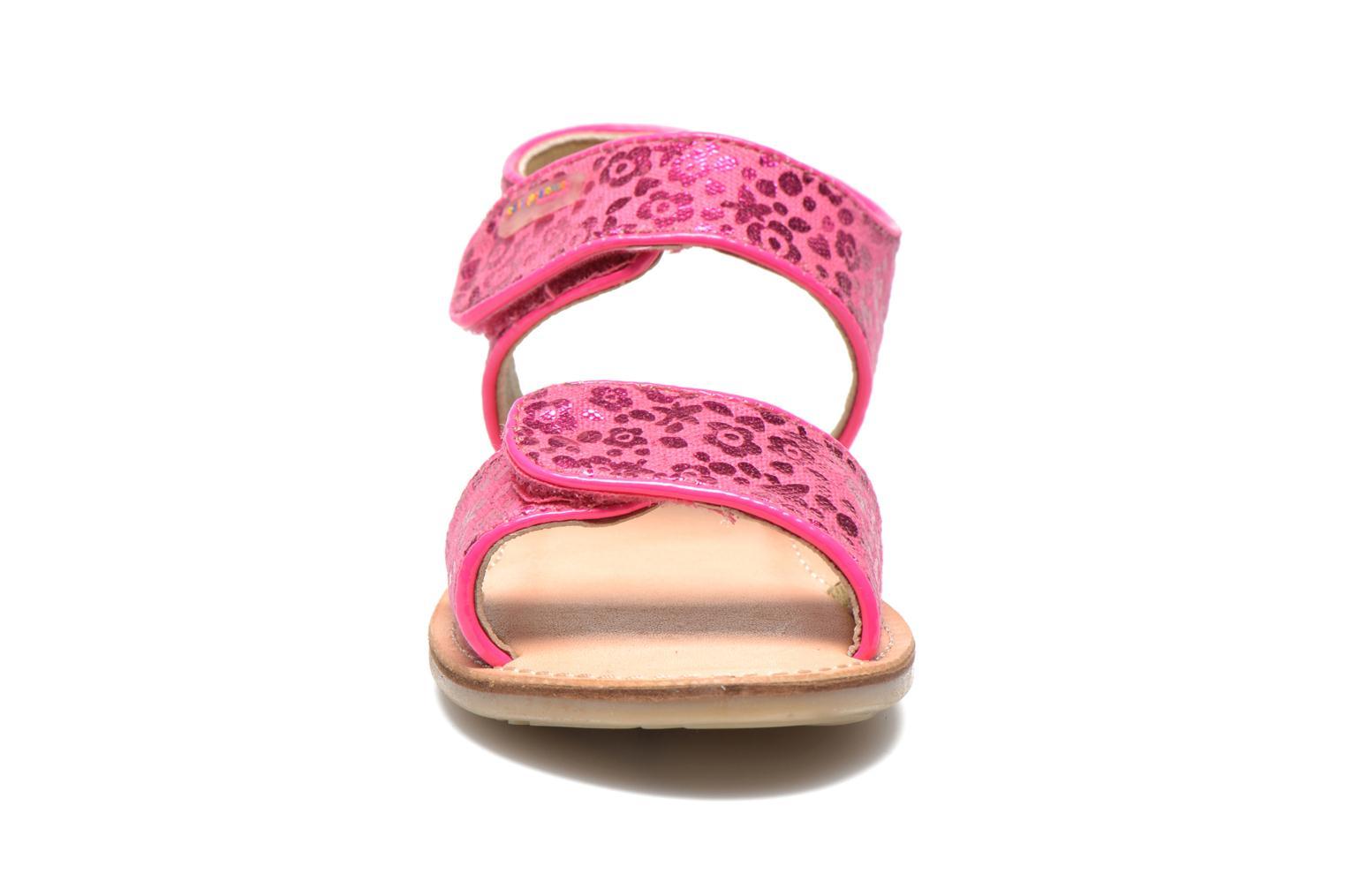 Sandalen Les Tropéziennes par M Belarbi Sissi rosa schuhe getragen