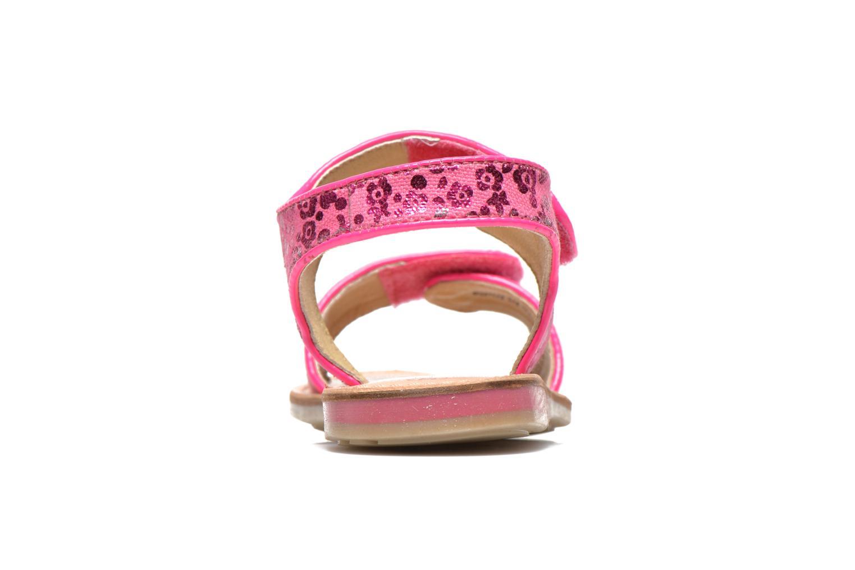 Sandalen Les Tropéziennes par M Belarbi Sissi rosa ansicht von rechts