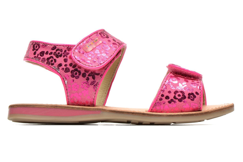 Sandalen Les Tropéziennes par M Belarbi Sissi rosa ansicht von hinten