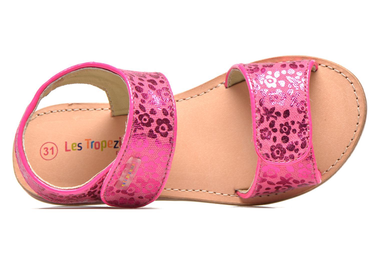 Sandali e scarpe aperte Les Tropéziennes par M Belarbi Sissi Rosa immagine sinistra