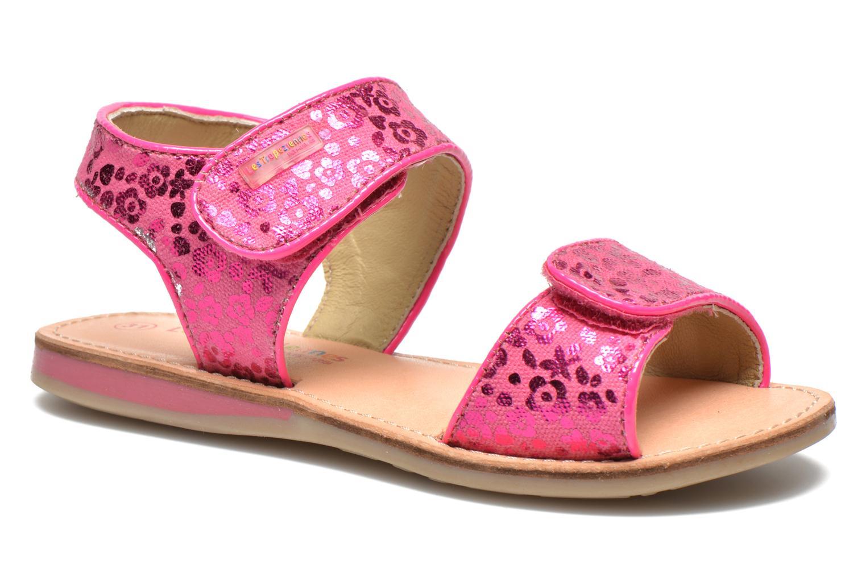 Sandalen Les Tropéziennes par M Belarbi Sissi rosa detaillierte ansicht/modell