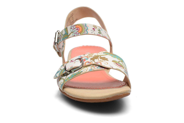 Sandales et nu-pieds Hush Puppies Corsica Buckle Multicolore vue portées chaussures