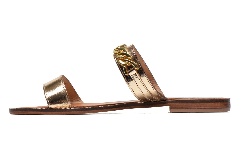 Mules & clogs Les Tropéziennes par M Belarbi Ballet Bronze and Gold front view