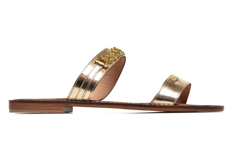 Mules & clogs Les Tropéziennes par M Belarbi Ballet Bronze and Gold back view