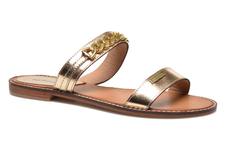 Mules & clogs Les Tropéziennes par M Belarbi Ballet Bronze and Gold detailed view/ Pair view