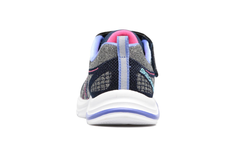 Sneaker Skechers Swift Kicks grau ansicht von rechts