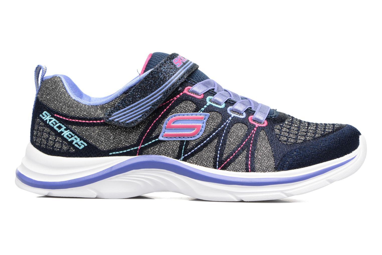 Sneaker Skechers Swift Kicks grau ansicht von hinten