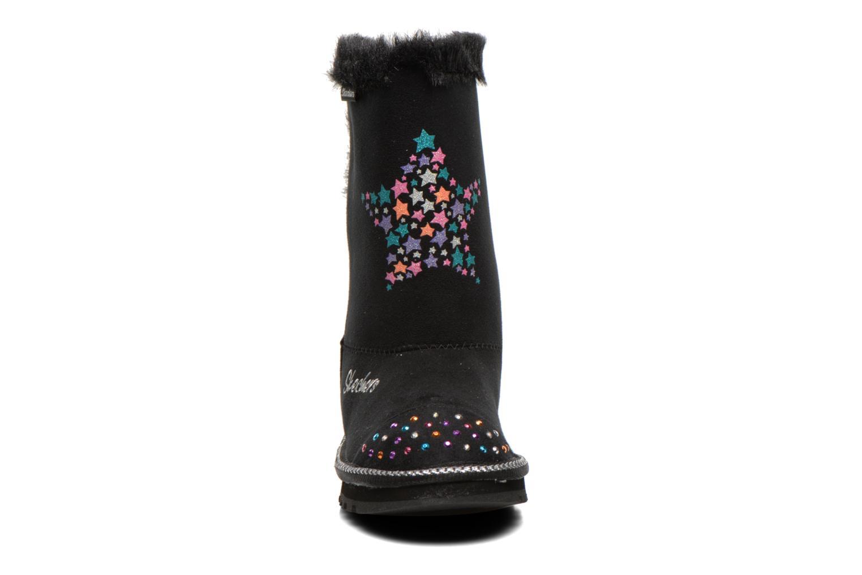 Bottes Skechers Keepsakes Fufu kids Noir vue portées chaussures