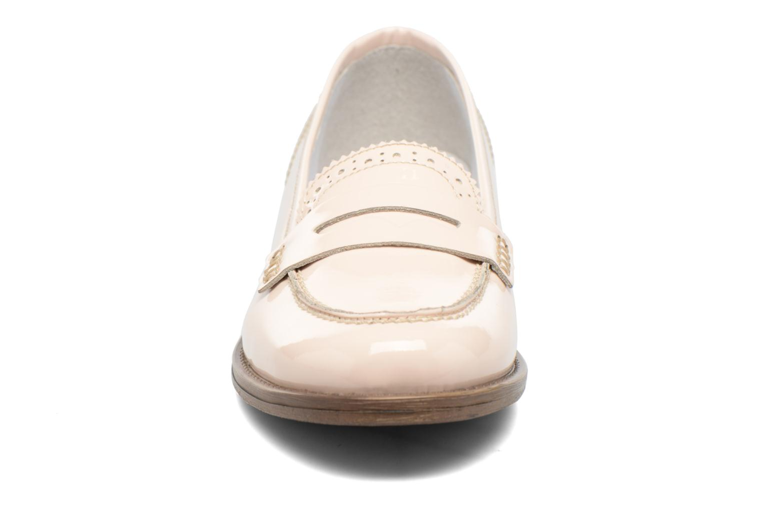 Loafers Georgia Rose Ananda Beige model view