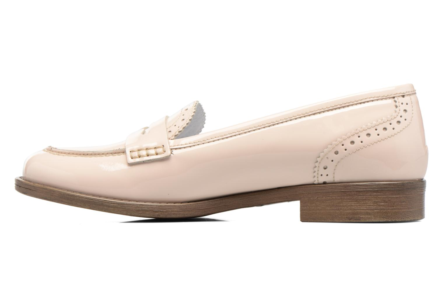 Loafers Georgia Rose Ananda Beige front view