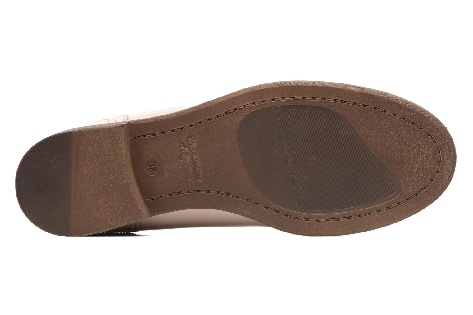Loafers Georgia Rose Ananda Beige view from above