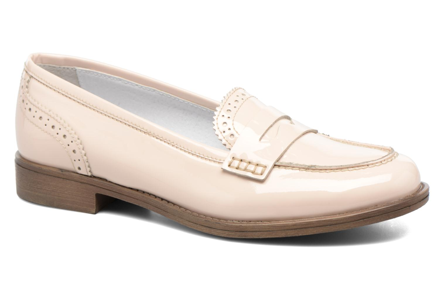 Loafers Georgia Rose Ananda Beige detailed view/ Pair view
